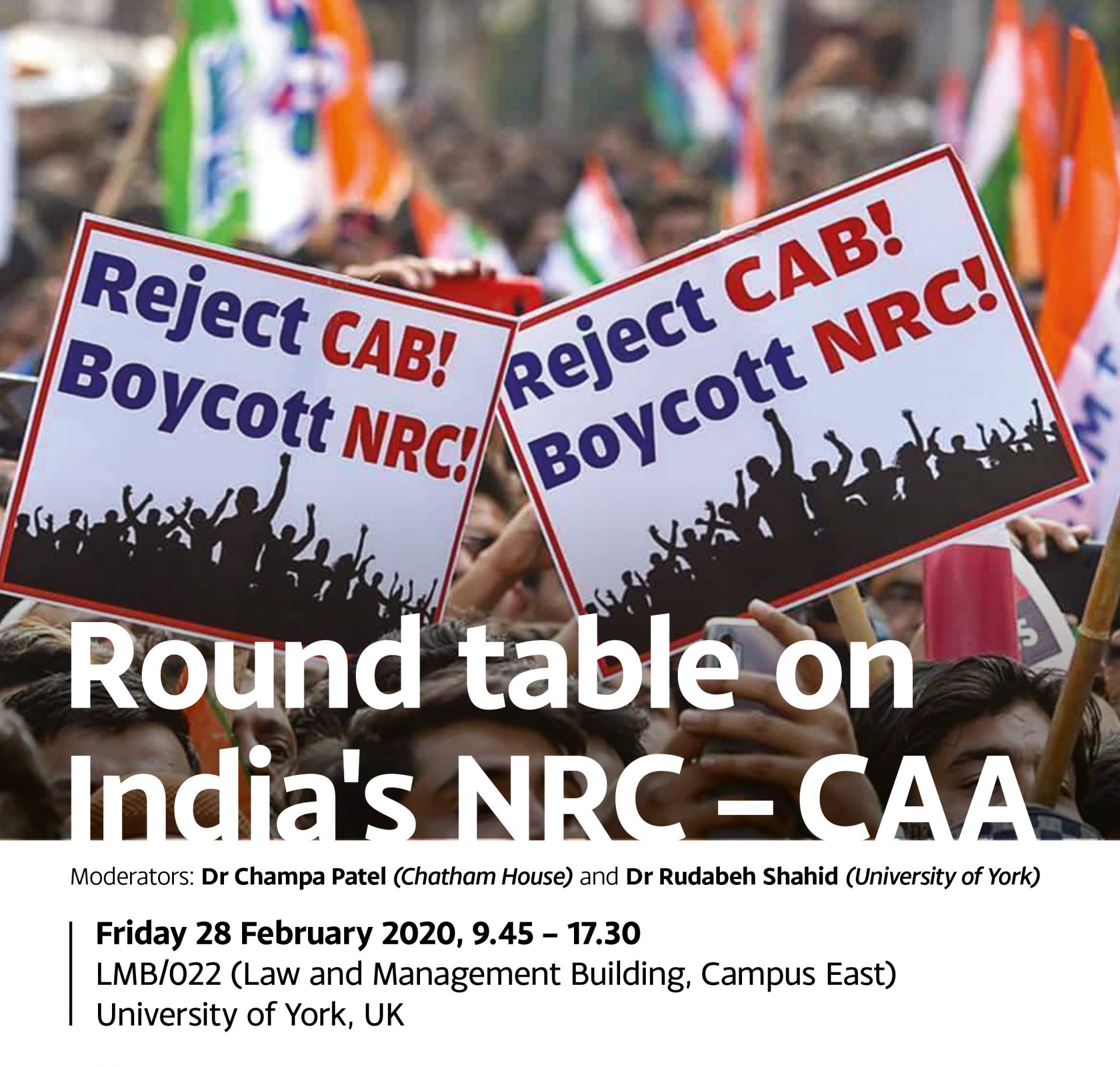 Round table on India's NRC - CAA